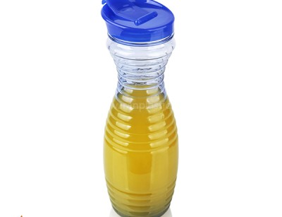 بطری آب طرح دار 1.2 لیتری هوم کت پلاستیک