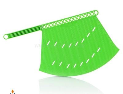 بادبزن کوچک حصیری ایده آل پلاستیک