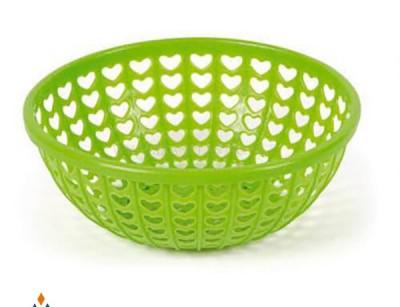 سبد سبزی قلبی ایده آل پلاستیک