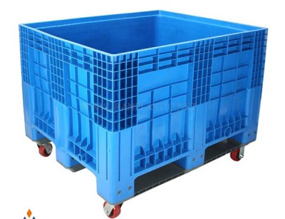 پالت چرخدار صنعتی سبلان پلاستیک