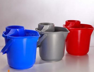 سطل و آبگیر گرد 10 لیتری مهسان