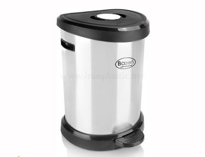 سطل پدالی 20 لیتری استیل پرو بازن