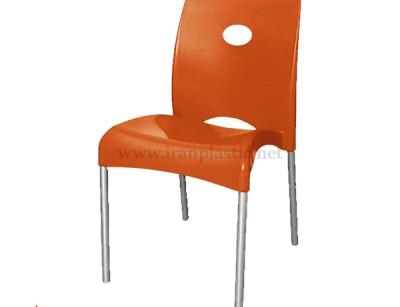 صندلی پایه فلزی ناصر پلاستیک 970