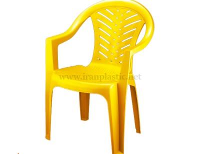 صندلی پلاستیکی دسته دار ناصر 874