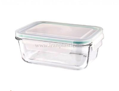 ظرف شیشه ای 1 لیتری لیمون