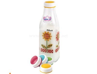 بطری زئوس گلدار بلور نیلوفر