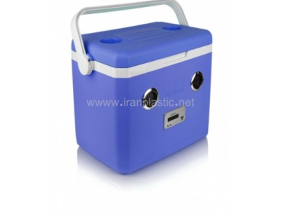 یخدان 25 لیتری اسپیکردار کولاک