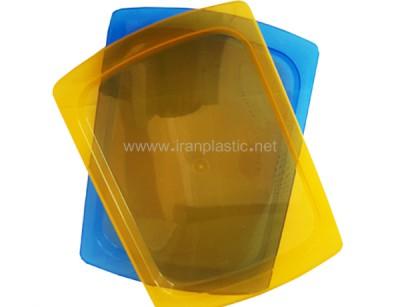 سینی شفاف ماهینی پلاستیک