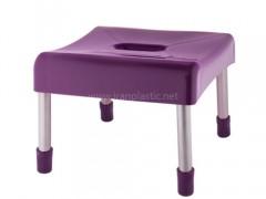 چهارپایه پایه فلزی هستی کوتاه ونوس پلاستیک