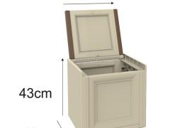 صندوق تک درب وندیک پلاستیک 1