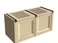 صندوق دو درب وندیک پلاستیک