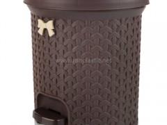 سطل زباله پدالی لایف بازن پلاستیک