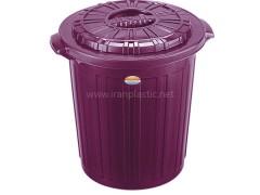 سطل آشغال پلاستیک ناصر 600