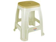 چهارپایه دو رنگ ناصر پلاستیک 918
