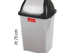 سطل زباله بادبزنی ناصر پلاستیک 5170