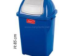 سطل زباله بادبزنی ناصر پلاستیک 5180