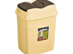 سطل زباله بادبزنی الماس ناصر پلاستیک 2720