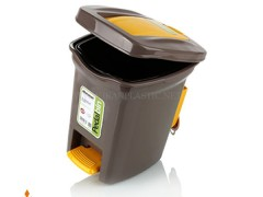 سطل زباله پدالی آدنا زیبا پلاستیک
