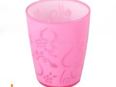 لیوان دو رنگ گلبرگ اشکان پلاستیک
