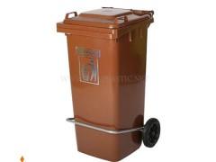 مخزن زباله پدال دار 120 لیتر سبلان