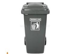 سطل زباله چرخدار 80 لیتری سبلان