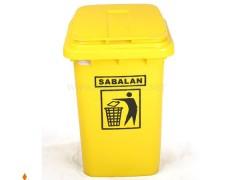 سطل آشغال 60 لیتری سبلان پلاستیک
