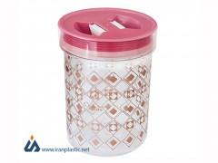 قوطی حبوبات کریستال ونوس پلاستیک 2