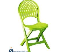 صندلی تاشو پلاستیکی ناصر 857