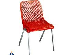 صندلی پایه فلزی ناصر پلاستیک 882