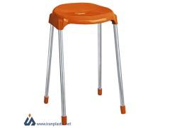 چهارپایه پایه فلزی بلند ناصر پلاستیک 864