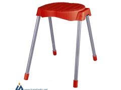 چهارپایه حصیربافت پایه فلزی ناصر پلاستیک