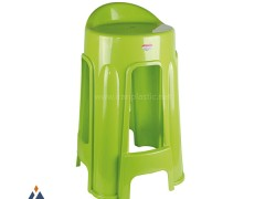 چهارپایه پشتی دار پلاستیک ناصر 1214