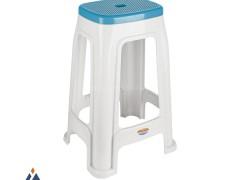 چهارپایه دو رنگ ناصر پلاستیک 1418