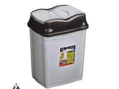 سطل زباله بادبزنی الماس ناصر پلاستیک 2730