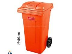 مخزن زباله چرخدار پلاستیک ناصر 5100