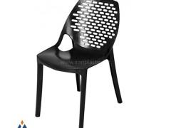 صندلی پلاستیکی آتیلا نقش بیضی هوم کت پلاستیک