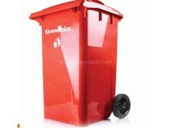 مخزن زباله صنعتی 240 لیتری چرخ دار گودبین هوم کت پلاستیک