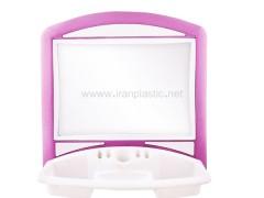 آینه عرشیا متیس پلاستیک