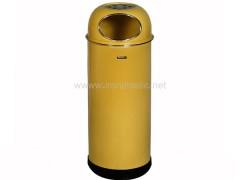 سطل زباله اداری استیل کد l70