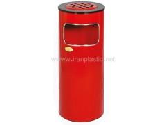 سطل زباله زیر سیگاری دار استیل