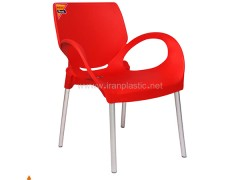 صندلی دسته دار پایه آلومینیوم