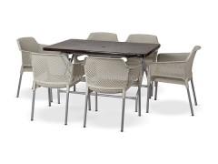 ست میز و صندلی پلاستیکی