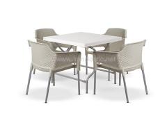 ست میز و صندلی پلاستیکی کد 2030