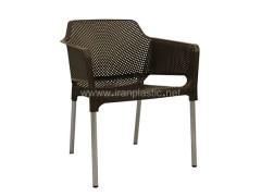 صندلی پایه فلزی مبلی نت (net) کد 180 صبا