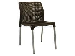 صندلی پایه فلزی بدون دسته صبا پلاستیک