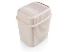 سطل بادبزنی دو درب آنيل طرح مايا هوم کت پلاستیک 2467.jpg