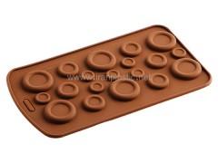 قالب شکلات دکمه