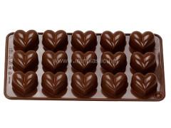 قالب شکلات قلبی