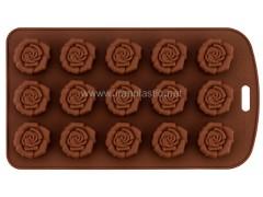 قالب شکلات رزی نیلوفر
