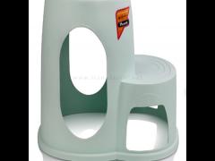 چهارپایه پلاستیکی دو پله هوم کت پلاستیک